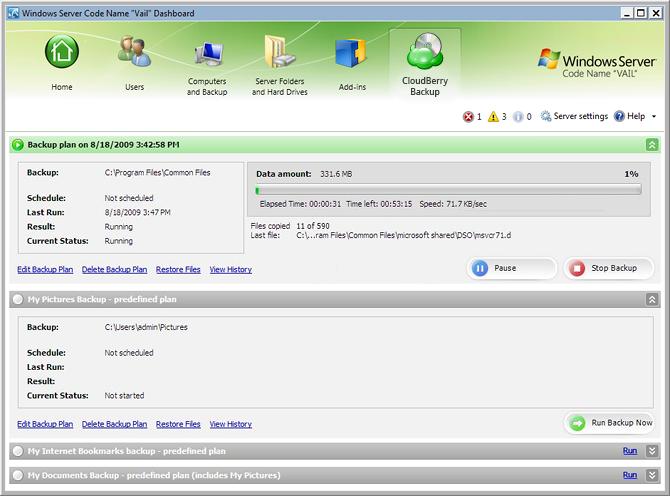 logiciel de backup