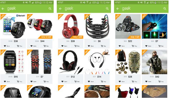 Geek – Smarter Shopping